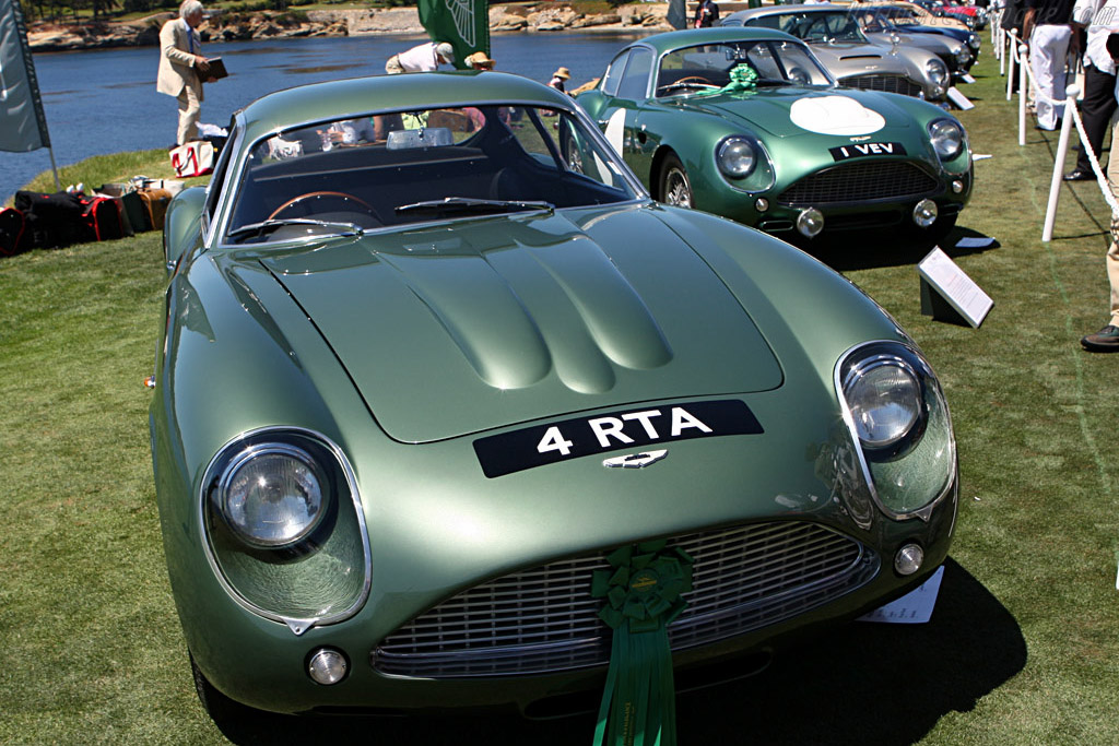 Aston Martin DB4 GT Zagato - Chassis: DB4GT/0186/R   - 2007 Pebble Beach Concours d'Elegance