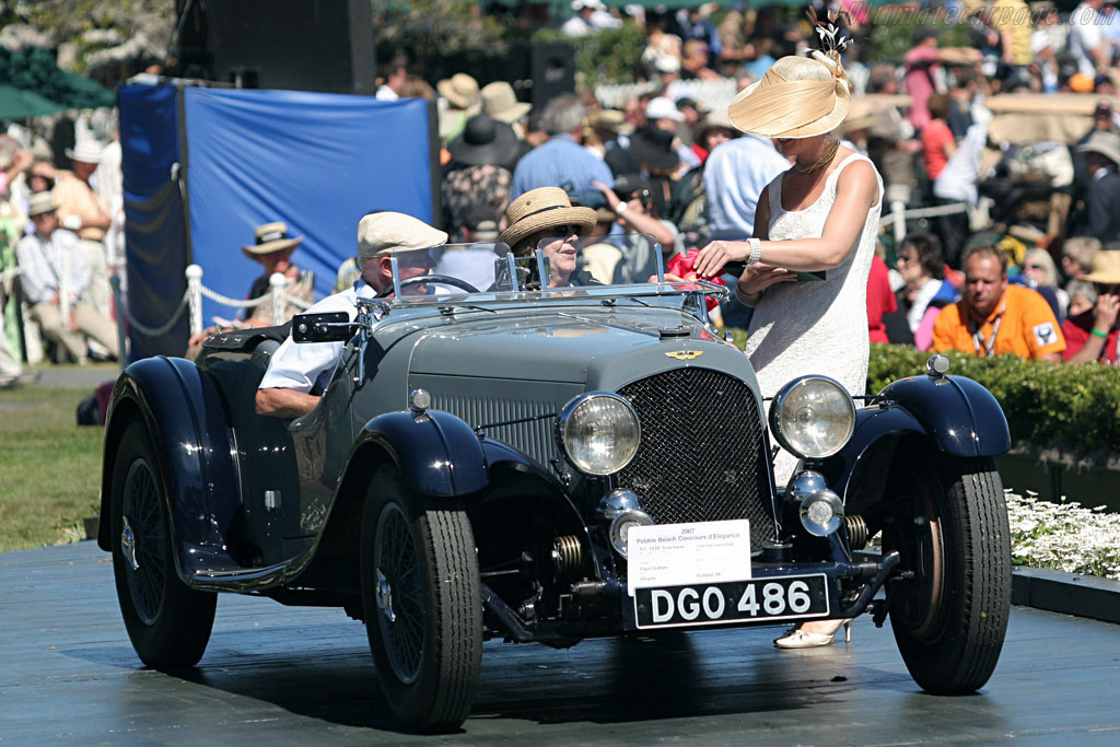 Aston Martin Type A Speed Model    - 2007 Pebble Beach Concours d'Elegance
