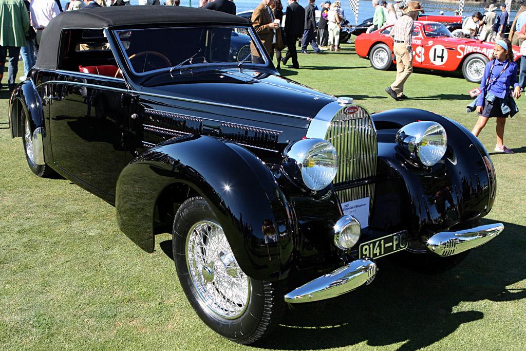 Bugatti Type 57 C Gangloff Stelvio    - 2007 Pebble Beach Concours d'Elegance