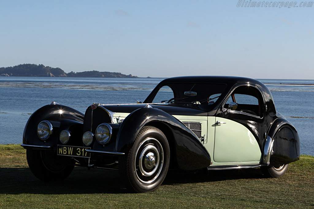 Bugatti Type 57 S Gangloff Coupe - Chassis: 57501  - 2007 Pebble Beach Concours d'Elegance