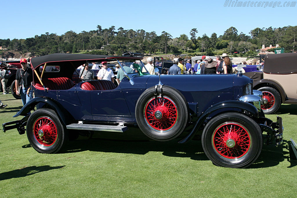 DuPont Model G Waterhouse 4 Passenger Speedster    - 2007 Pebble Beach Concours d'Elegance
