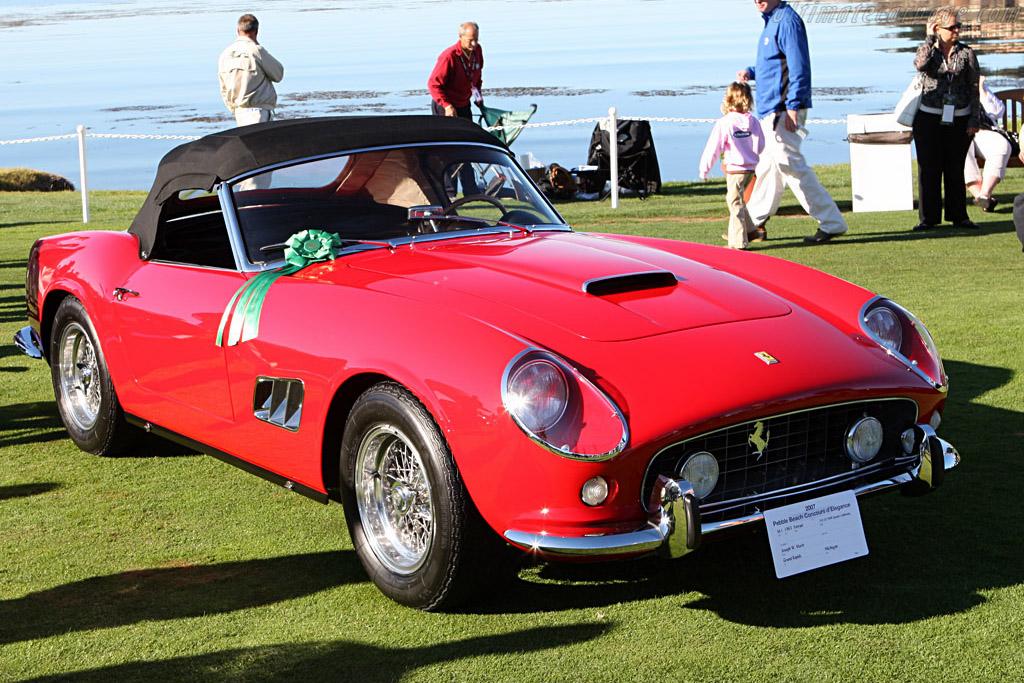 Ferrari 250 GT SWB California Spyder - Chassis: 4013GT   - 2007 Pebble Beach Concours d'Elegance