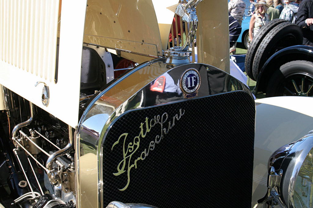 Isotta Fraschini Tipo 8 Sala Torpedo    - 2007 Pebble Beach Concours d'Elegance