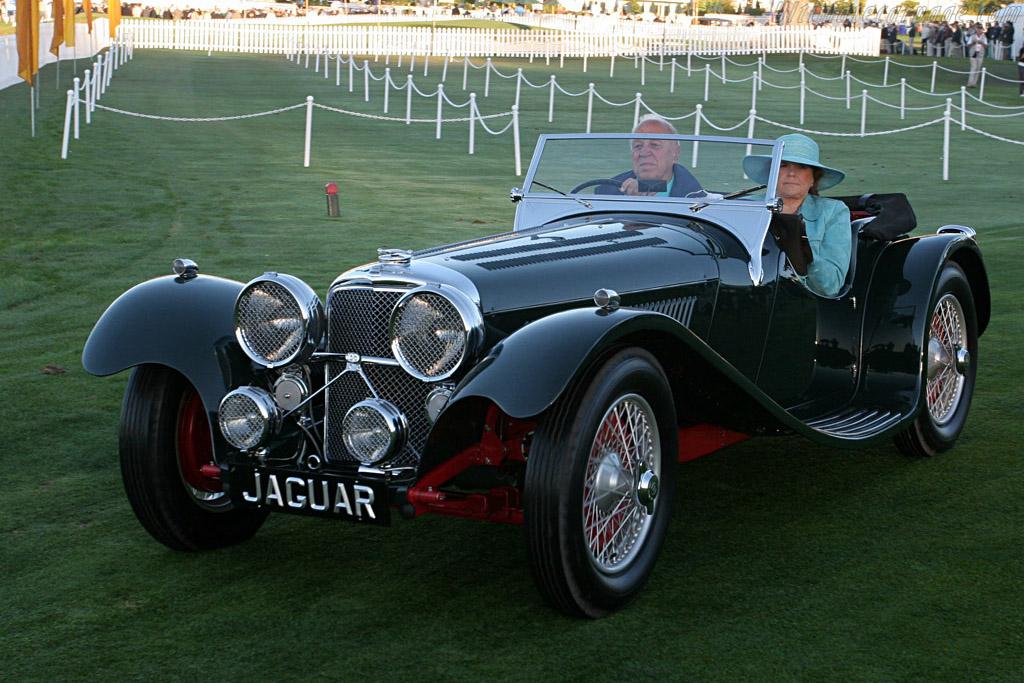 Jaguar SS 100 Roadster    - 2007 Pebble Beach Concours d'Elegance