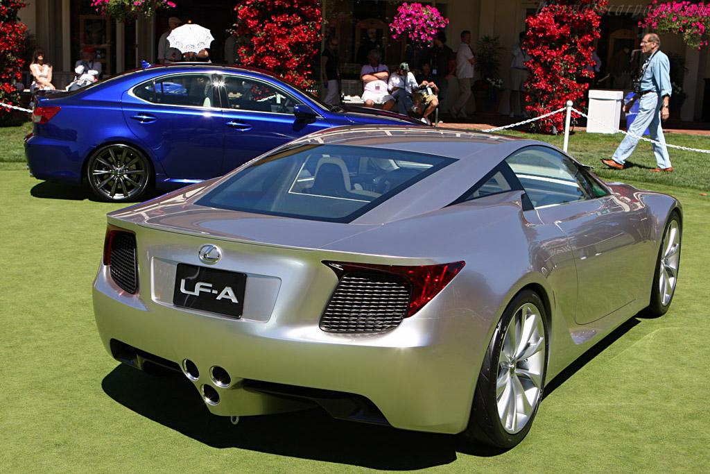 Lexus LF-A + IS-F    - 2007 Pebble Beach Concours d'Elegance