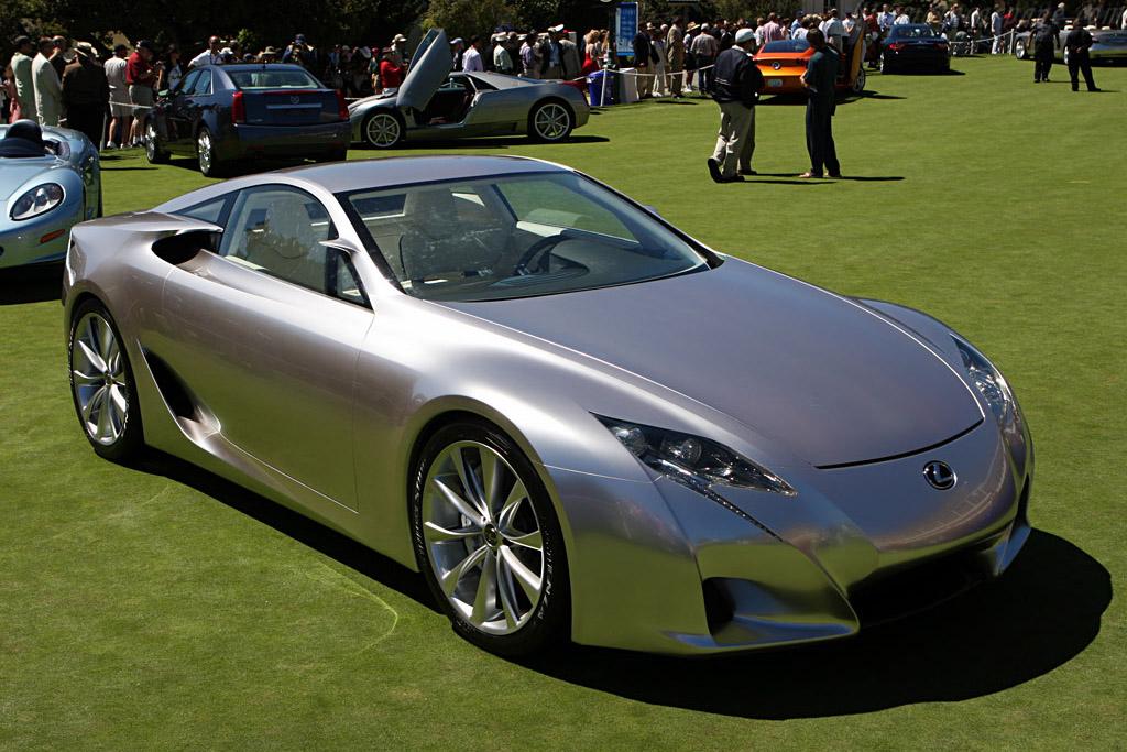 Lexus LF-A    - 2007 Pebble Beach Concours d'Elegance