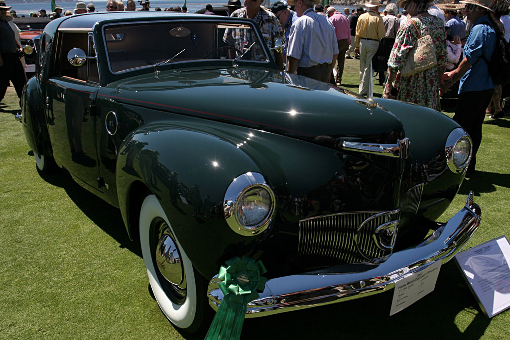 Lincoln Continental Derham Coupe    - 2007 Pebble Beach Concours d'Elegance