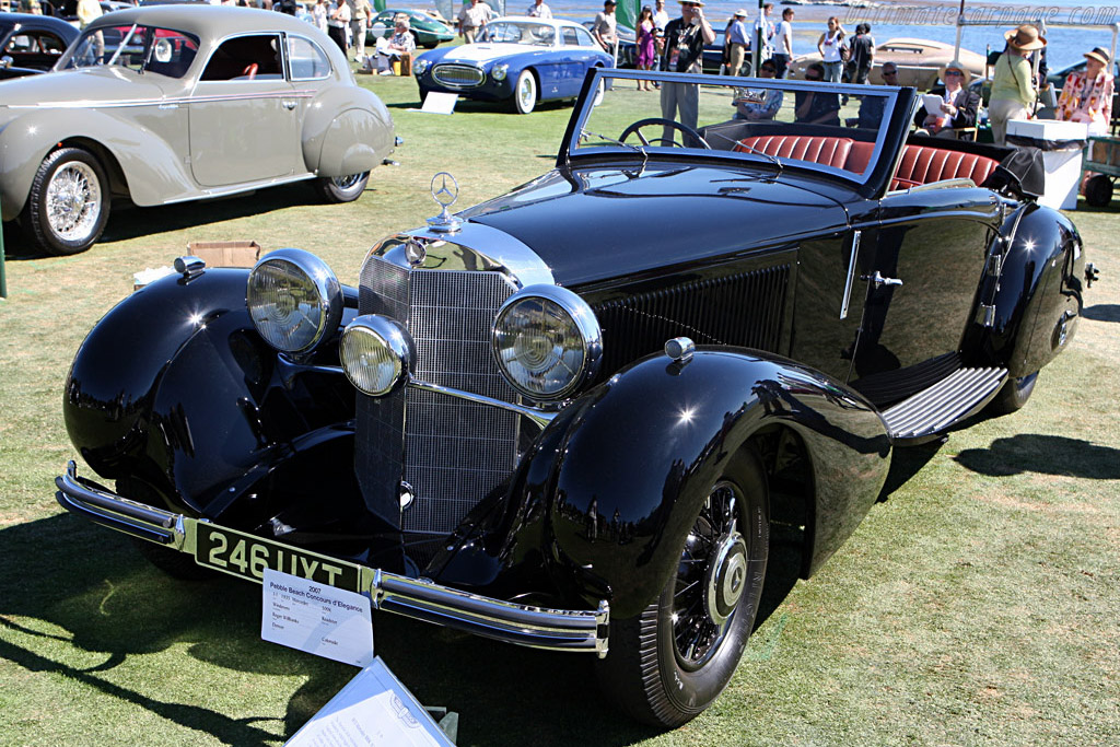 Mercedes-Benz 500 K Windovers Roadster    - 2007 Pebble Beach Concours d'Elegance