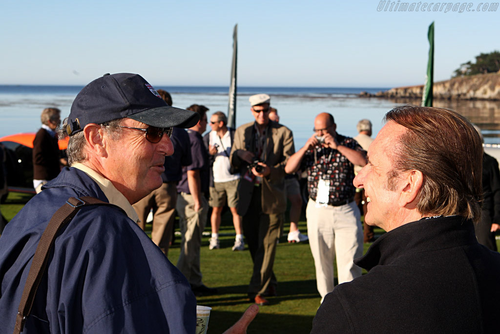 Nick Mason and Emmerson Fittipaldi    - 2007 Pebble Beach Concours d'Elegance
