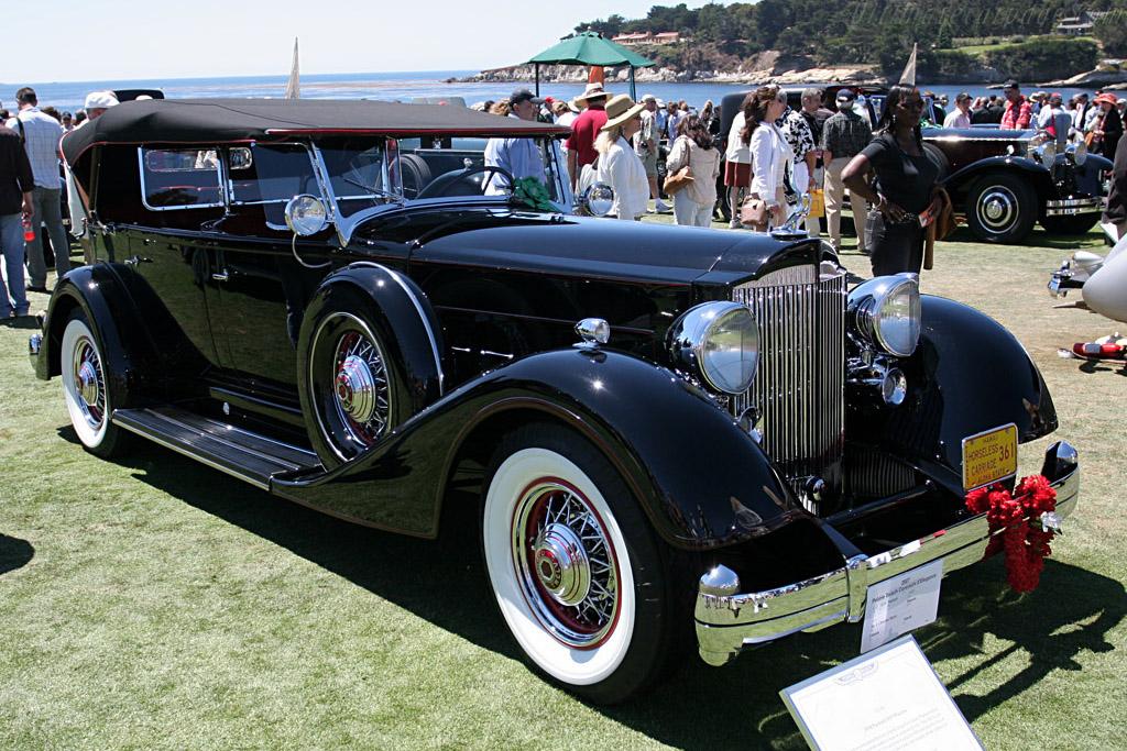 Packard 1107 Phaeton    - 2007 Pebble Beach Concours d'Elegance