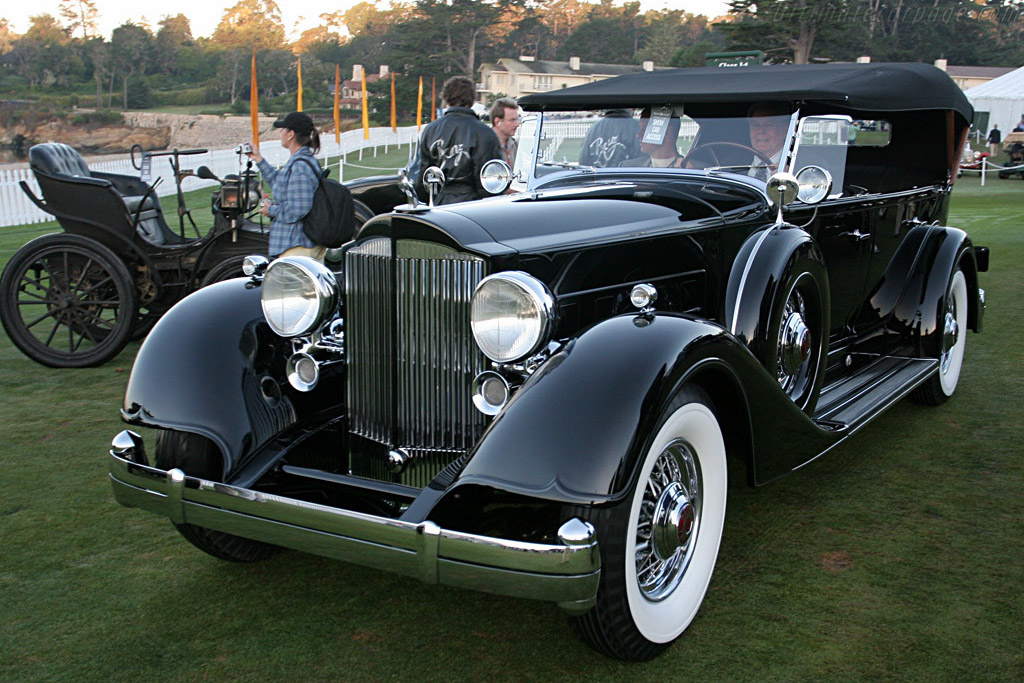 Packard 1107 Touring    - 2007 Pebble Beach Concours d'Elegance