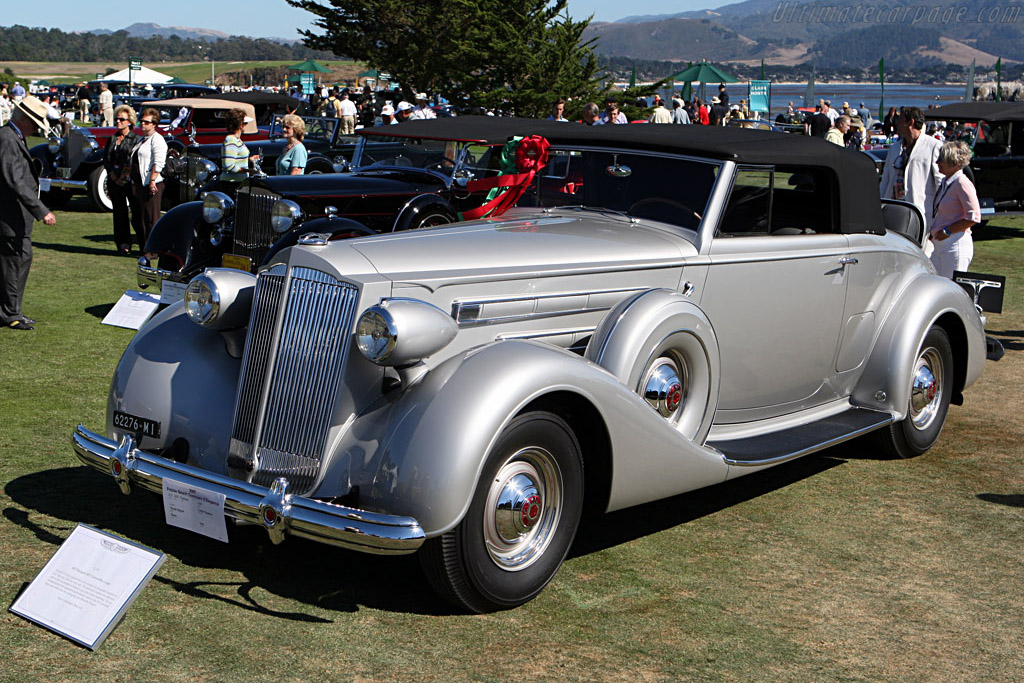 Packard 1507 Convertible Coupe    - 2007 Pebble Beach Concours d'Elegance