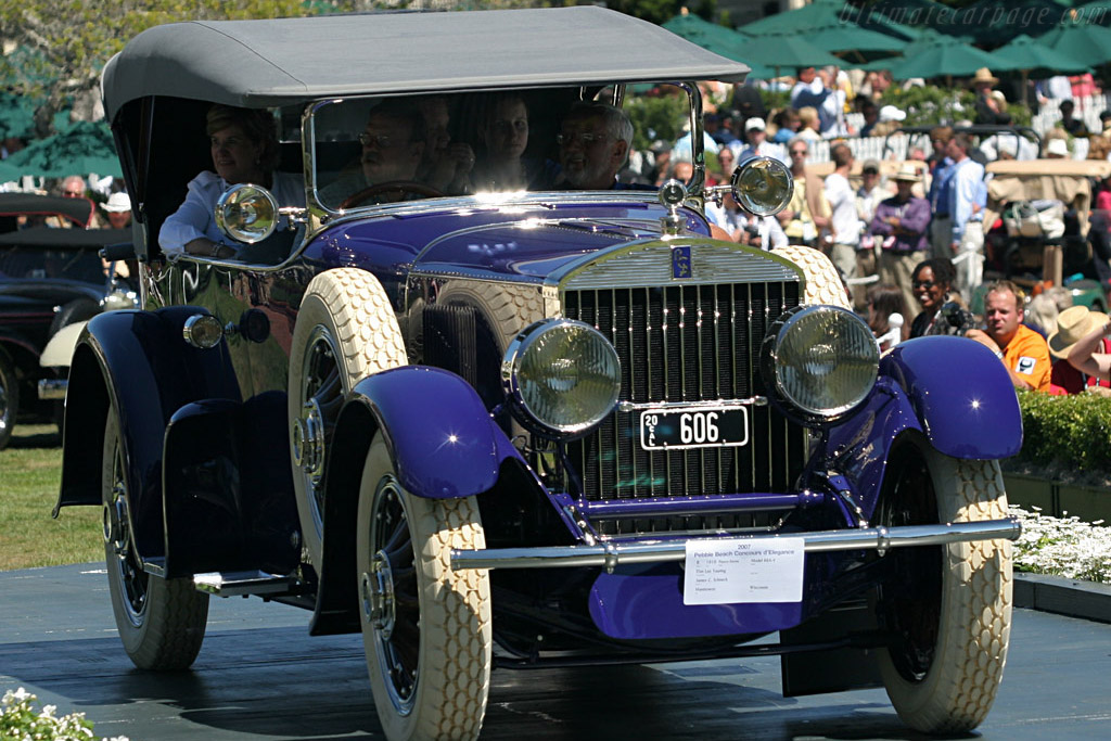 Pierce Arrow Model 66A-4 Don Lee Touring    - 2007 Pebble Beach Concours d'Elegance