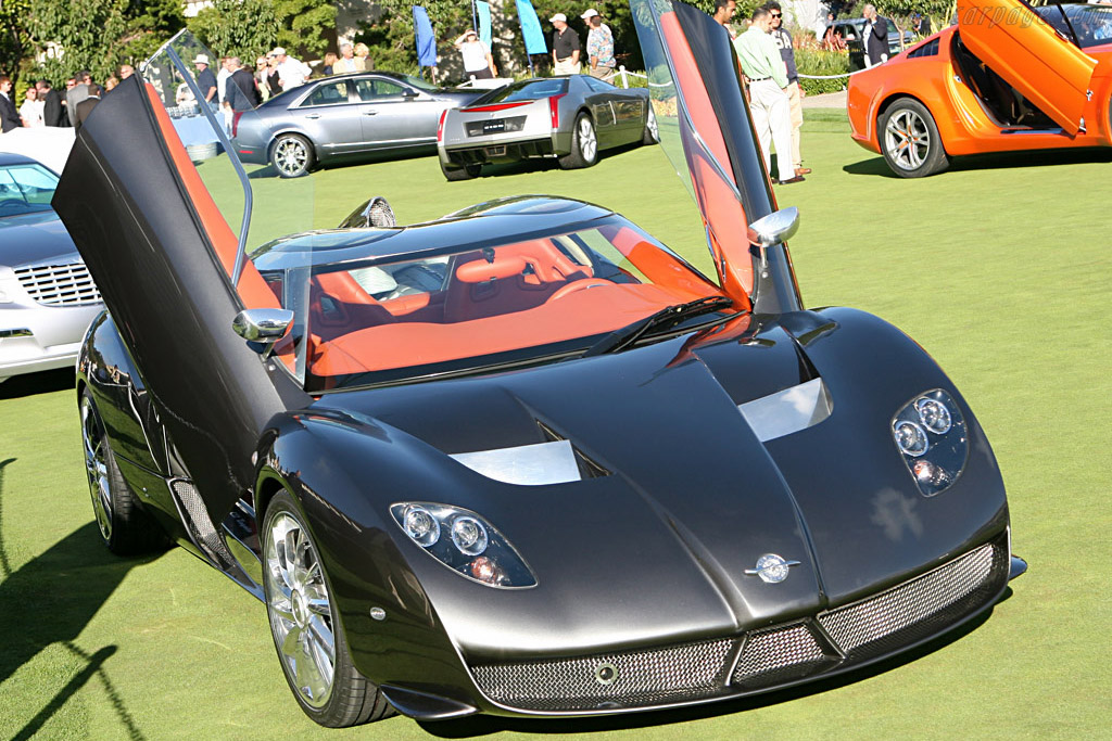 Spyker C12 Zagato Spyder    - 2007 Pebble Beach Concours d'Elegance