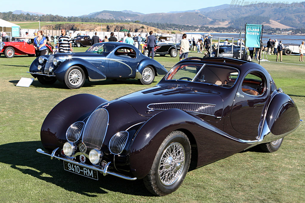 Talbot Lago T150 SS Teardrop - Chassis: 90117   - 2007 Pebble Beach Concours d'Elegance