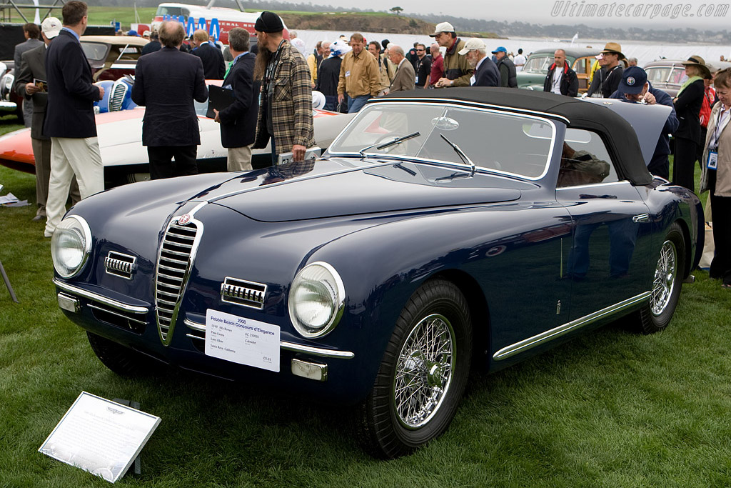 Alfa Romeo 6C 2500 SS Pinin Farina Cabriolet - Chassis: 915692   - 2008 Pebble Beach Concours d'Elegance