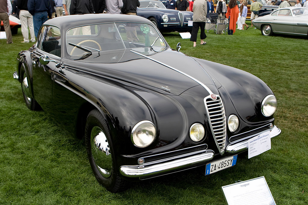 Alfa Romeo 6C 2500 SS Touring Coupe - Chassis: 915884   - 2008 Pebble Beach Concours d'Elegance