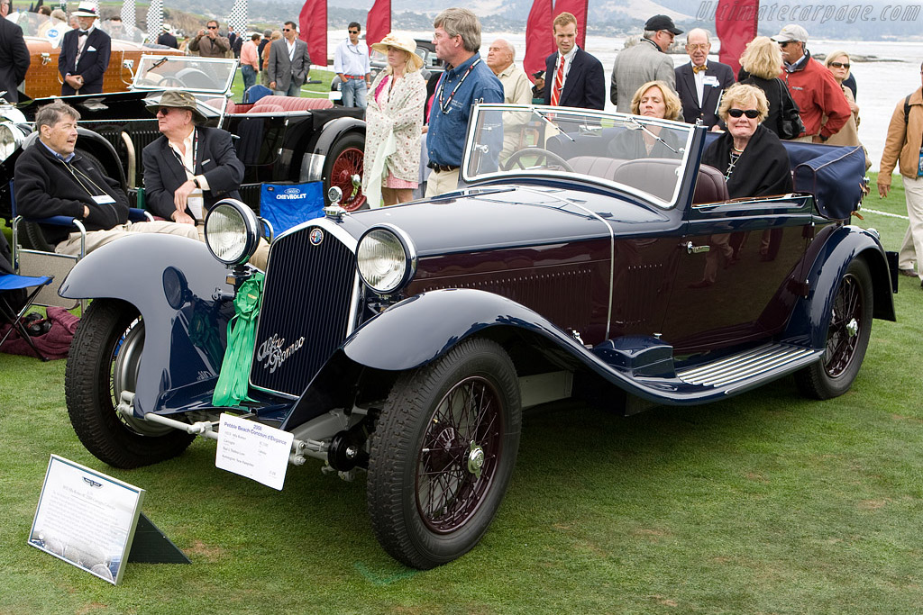 Alfa Romeo 8C 2300 Castagna Cabriolet - Chassis: 2311214   - 2008 Pebble Beach Concours d'Elegance
