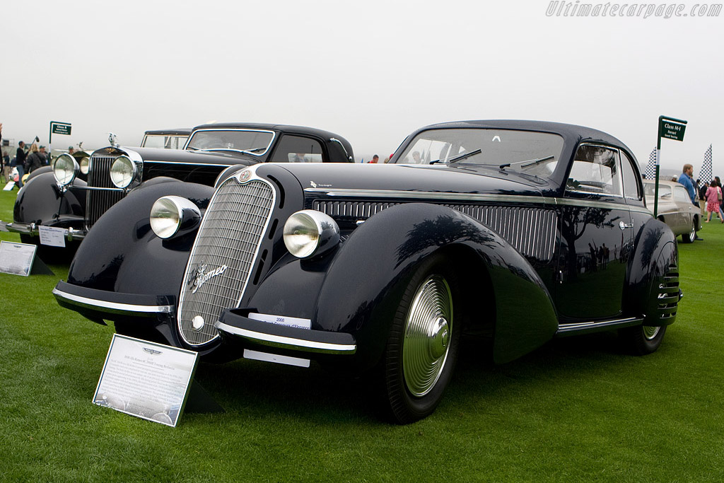 Alfa Romeo 8C 2900 B Touring Berlinetta - Chassis: 412035   - 2008 Pebble Beach Concours d'Elegance