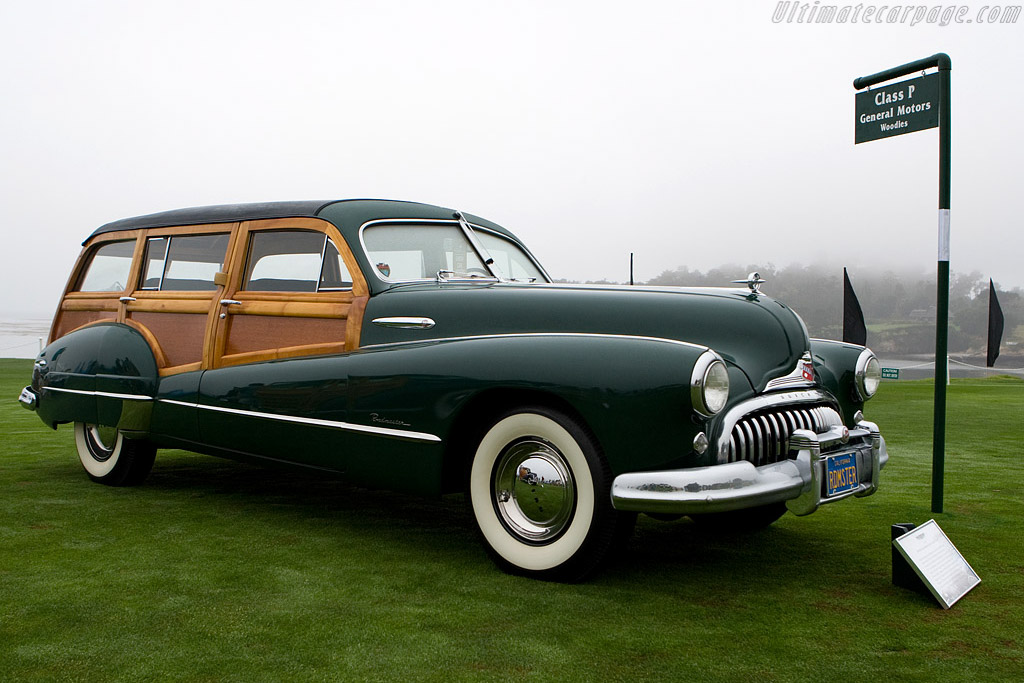 Buick Roadmaster Hercules Estage Wagon    - 2008 Pebble Beach Concours d'Elegance