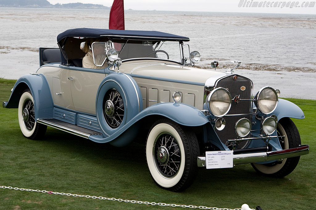 Cadillac 452 V16 Fleetwood Roadster    - 2008 Pebble Beach Concours d'Elegance