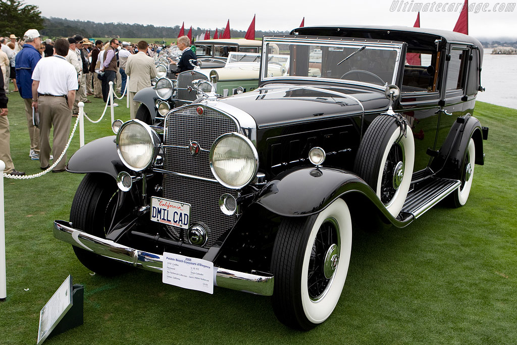 Cadillac 452 V16 Fleetwood Town Cabriolet    - 2008 Pebble Beach Concours d'Elegance
