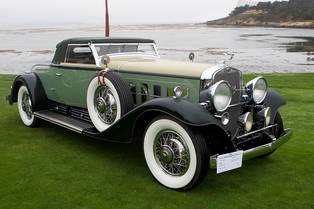 Cadillac 452 V16 Rollston Convertible Coupe    - 2008 Pebble Beach Concours d'Elegance