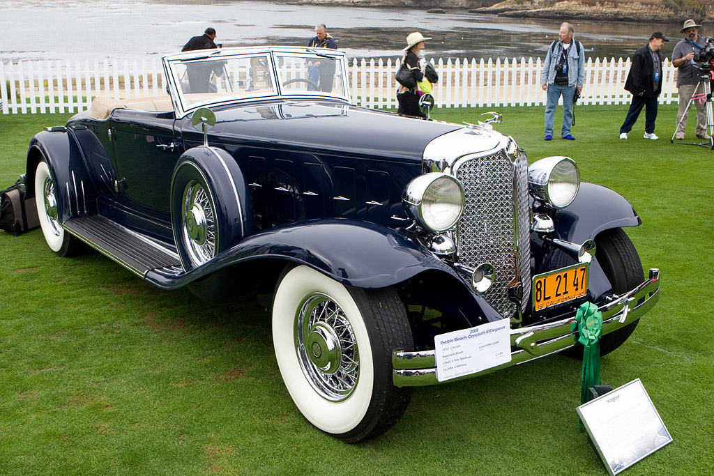 Chrysler Imperial Lebaron Convertible Coupe 2008 Pebble Beach Concours D Elegance
