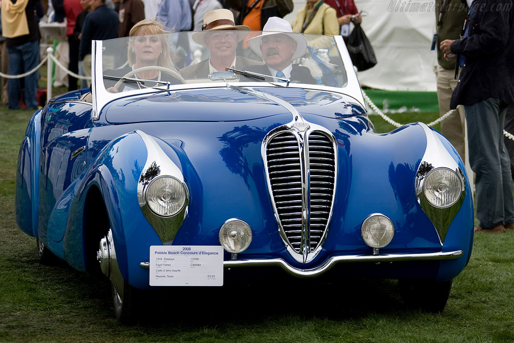 Delahaye 135 MS Faget-Varnet Cabriolet - Chassis: 801077   - 2008 Pebble Beach Concours d'Elegance