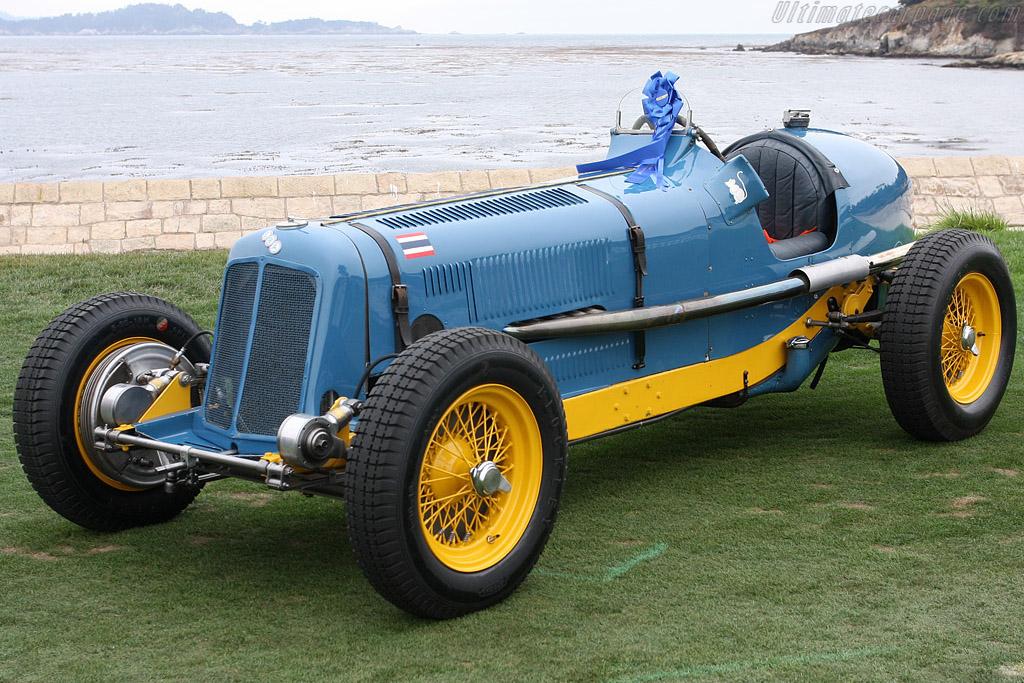 ERA R2B - Chassis: R2B - Entrant: Greg Whitten  - 2008 Pebble Beach Concours d'Elegance