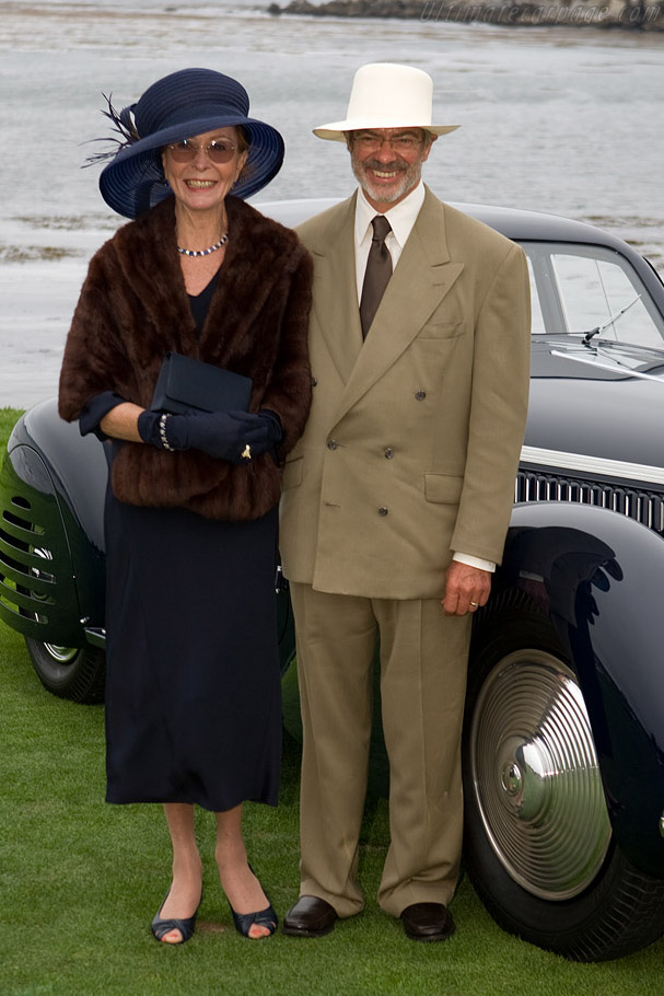 Jon and Mary Shirley    - 2008 Pebble Beach Concours d'Elegance