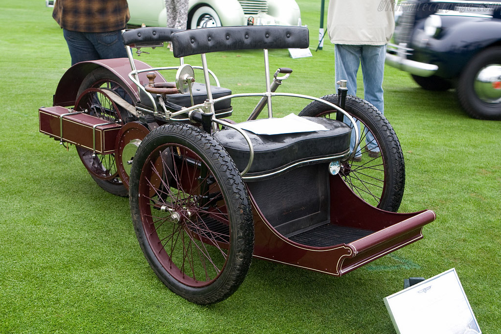 Leon Bollee 3.25 hp 3-Seater Tandem    - 2008 Pebble Beach Concours d'Elegance