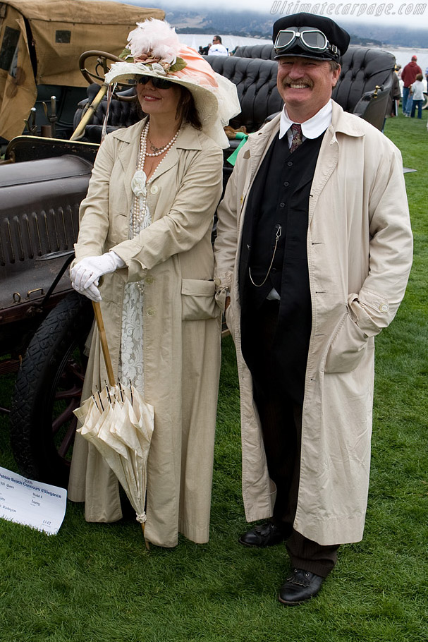Matching outfits    - 2008 Pebble Beach Concours d'Elegance