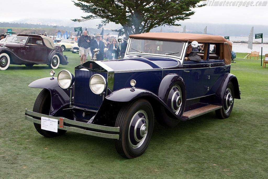 Rolls-Royce Phantom I Brewster Newmarket    - 2008 Pebble Beach Concours d'Elegance