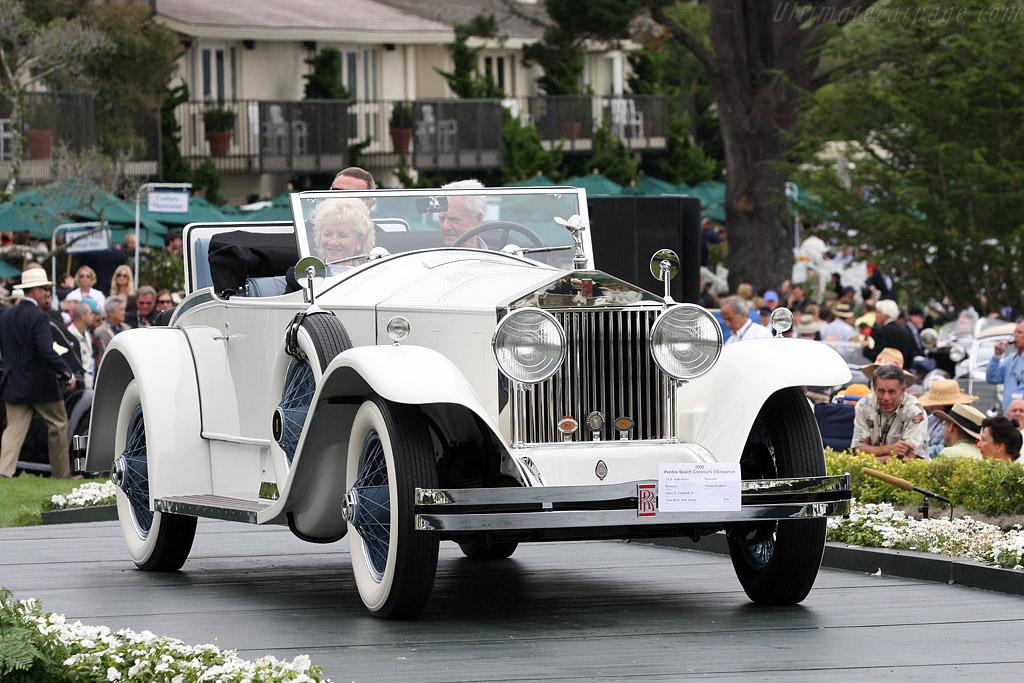 Rolls-Royce Phantom I Brewster Playboy Roadster    - 2008 Pebble Beach Concours d'Elegance