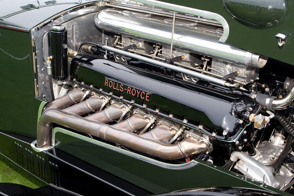 Rolls-Royce Phantom II Wilkinsons Drop Head Coupe    - 2008 Pebble Beach Concours d'Elegance
