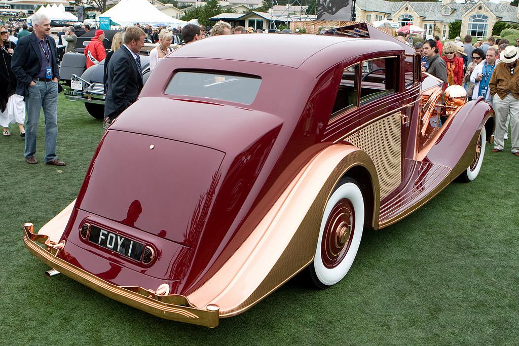 Rolls-Royce Phantom III Freestone & Webb Sedanca    - 2008 Pebble Beach Concours d'Elegance
