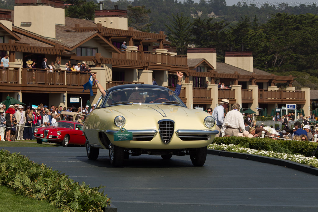 Alfa Romeo 1900 CSS Boano Coupe - Chassis: AR1900C 01846 - Entrant: Tony Shooshani  - 2017 Pebble Beach Concours d'Elegance