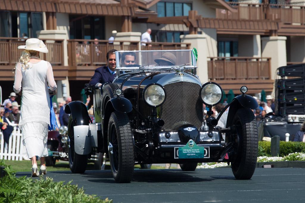 Bentley 4½ Litre Blower Le Mans Tourer  - Entrant: Private Collection  - 2017 Pebble Beach Concours d'Elegance