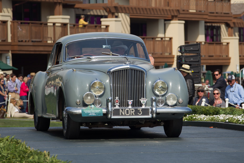 Bentley R-Type Continental - Chassis: BC9C - Entrant: Derek Hood  - 2017 Pebble Beach Concours d'Elegance