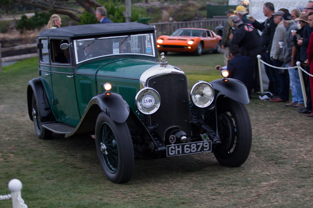 Bentley Speed Six Gurney Sports Saloon - Chassis: NH2741 - Entrant: Gregor Fisken  - 2017 Pebble Beach Concours d'Elegance