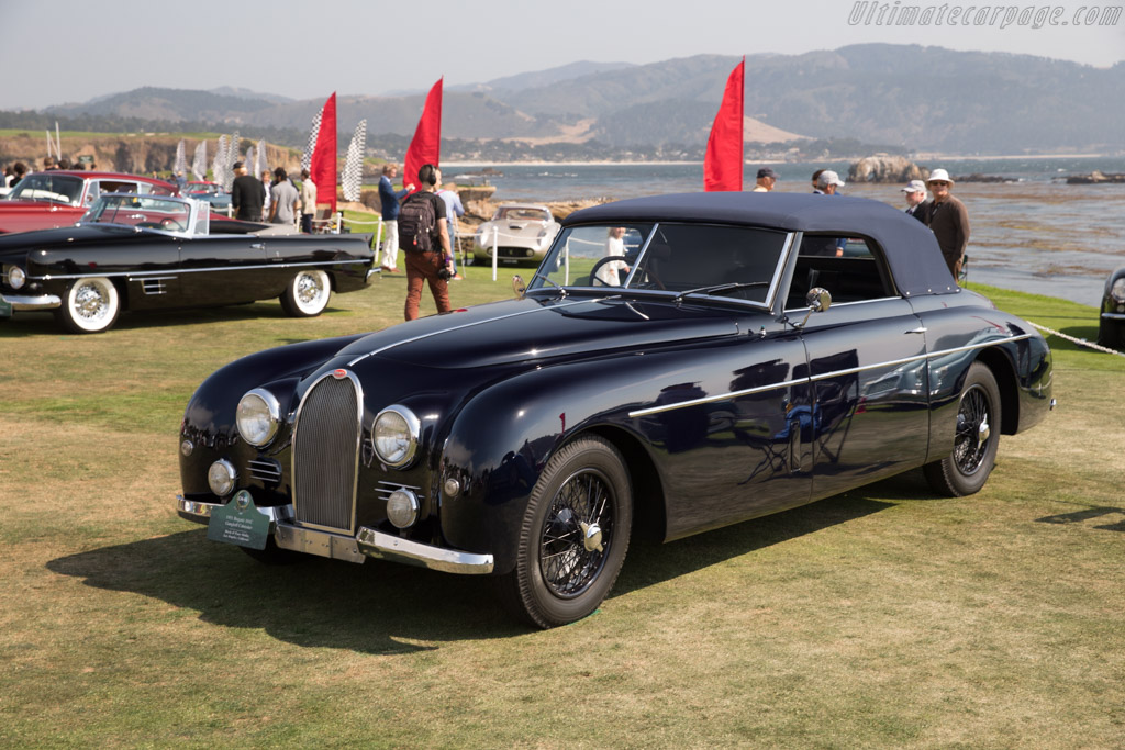 Bugatti Type 101C Gangloff Cabriolet - Chassis: 101501 - Entrant: Merle & Peter Mullin  - 2017 Pebble Beach Concours d'Elegance