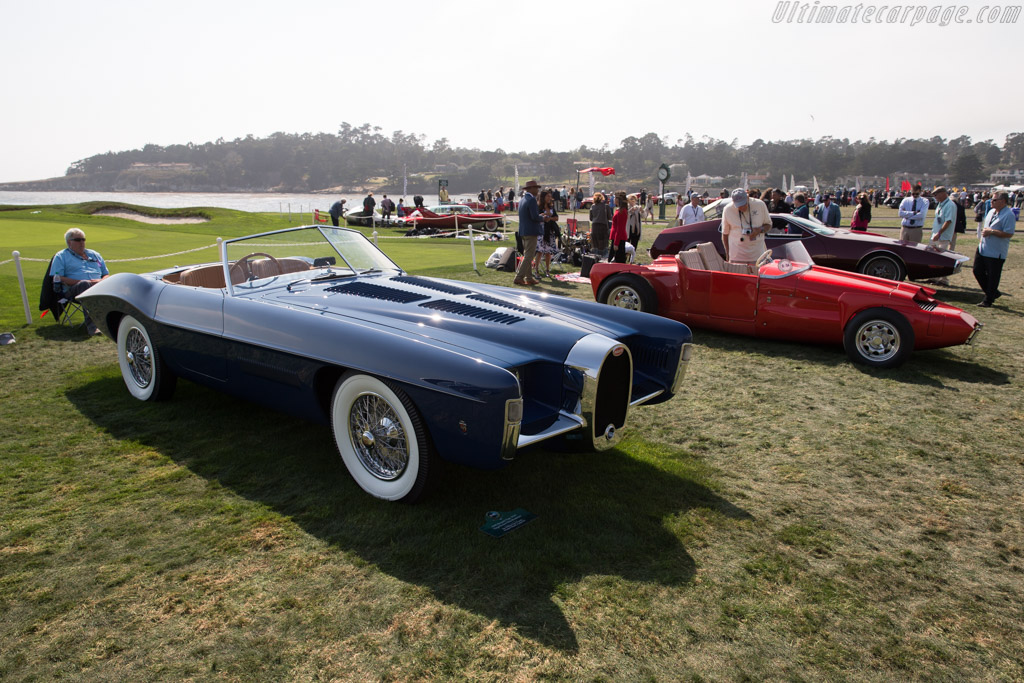 Bugatti Type 101C Ghia Roadster - Chassis: 101106 - Entrant: The William Lyon Family  - 2017 Pebble Beach Concours d'Elegance
