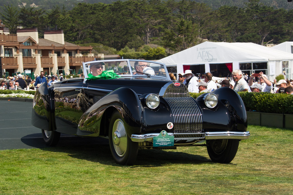 Bugatti Type 57 C Voll & Ruhrbeck Cabriolet - Chassis: 57819 - Entrant: Jim Patterson  - 2017 Pebble Beach Concours d'Elegance
