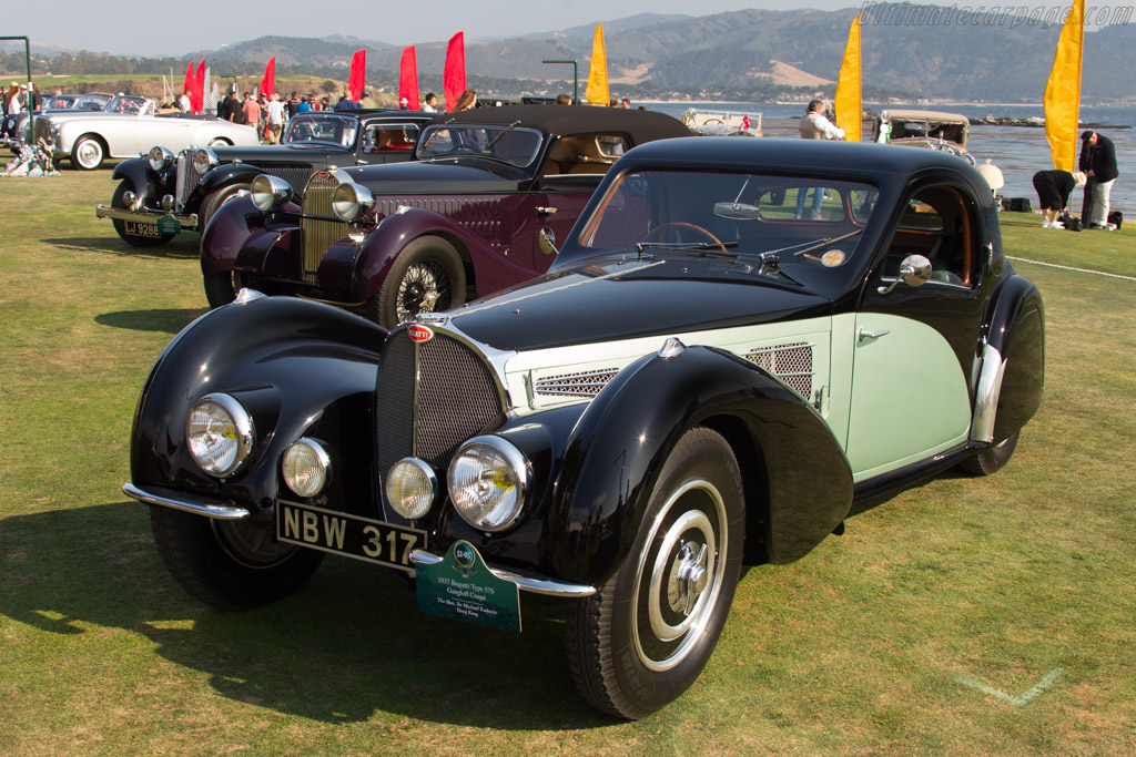 Bugatti Type 57 S Gangloff Coupe - Chassis: 57501 - Entrant: The Hon. Sir Michael Kadoorie  - 2017 Pebble Beach Concours d'Elegance