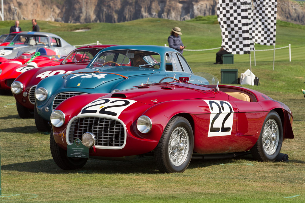 Ferrari 166 MM Touring Barchetta - Chassis: 0008M - Entrant: Anne Brockington Lee / Robert M. Lee Automobile Collection  - 2017 Pebble Beach Concours d'Elegance