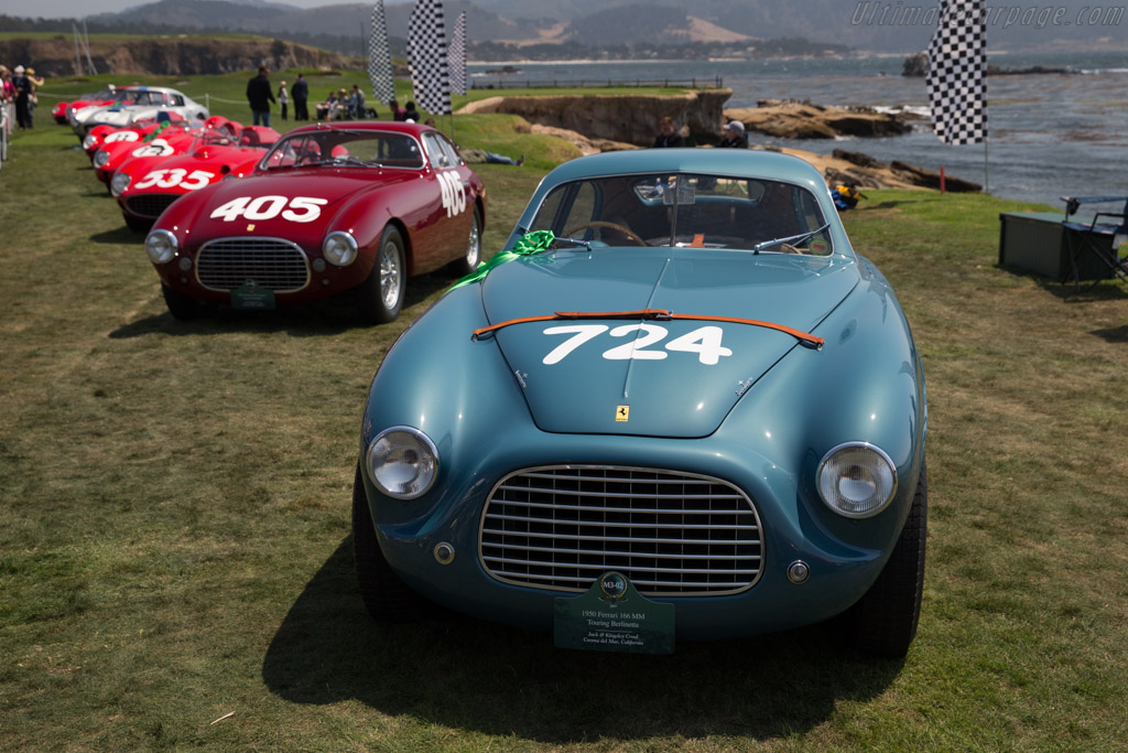 Ferrari 166 MM Touring Berlinetta - Chassis: 0026M - Entrant: Jack & Kingsley Croul  - 2017 Pebble Beach Concours d'Elegance