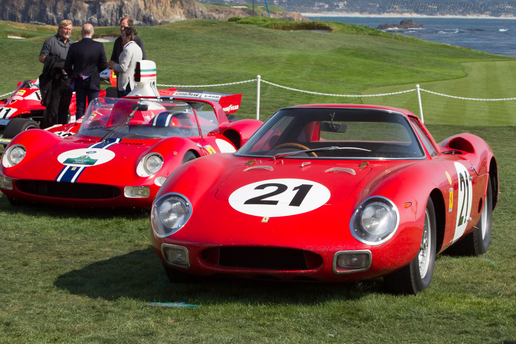 Ferrari 250 LM - Chassis: 5893 - Entrant: Indianapolis Motor Speedway Museum - 2017 Pebble Beach Concours d'Elegance