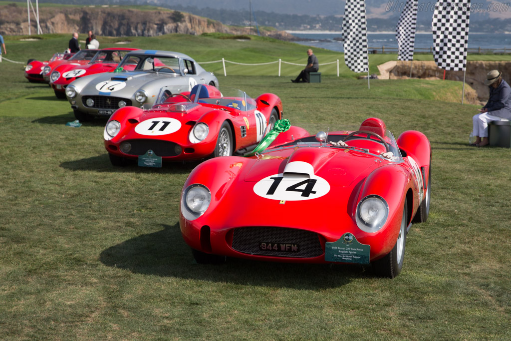 Ferrari 250 TR58 - Chassis: 0728TR - Entrant: The Hon. Sir Michael Kadoorie  - 2017 Pebble Beach Concours d'Elegance