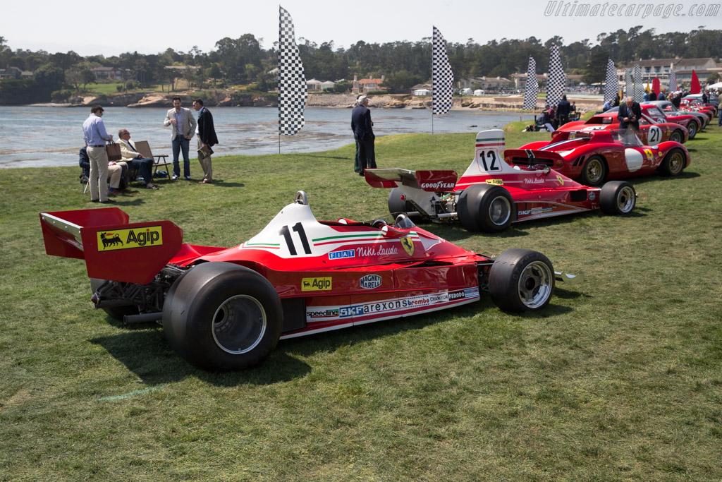 Ferrari 312 T2 - Chassis: 031 - Entrant: Colin Bach  - 2017 Pebble Beach Concours d'Elegance